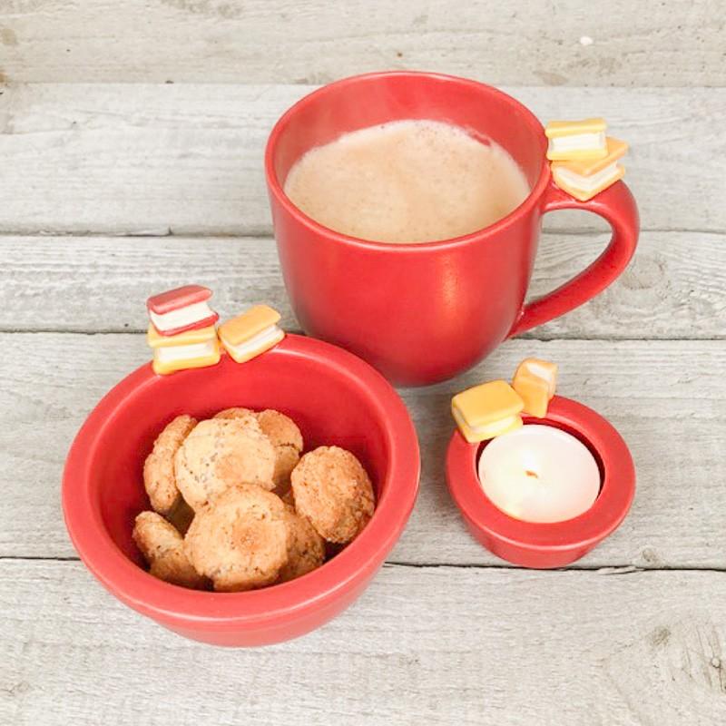 Oggetti per la casa tazza ciotola porta tealight set for Vendita online oggetti per la casa