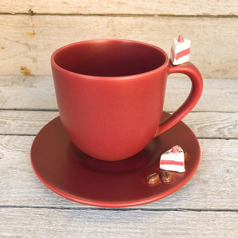 Oggetti per la casa tazza piattino set 2 pezzi for Vendita online oggetti per la casa