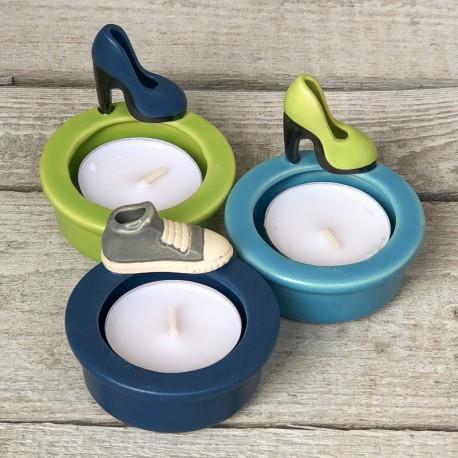 Regali per la casa. Porta-tealight con decorazione