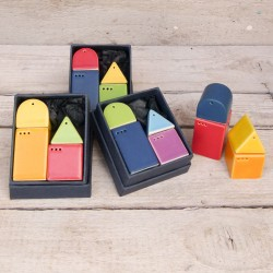 Idee regalo originali. Sale & Pepe - Casette (4 pezzi)