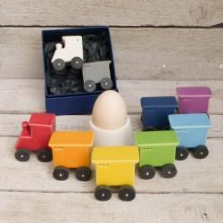 Regali per la casa. Sale & Pepe - Treno (Locomotiva e Vagone - 2 pezzi)