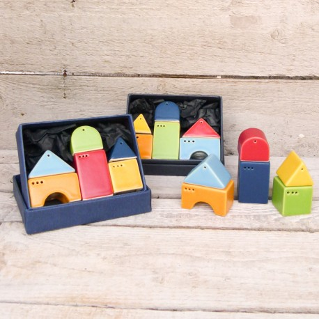 Idee regalo originali. Sale & Pepe - Casette (6 pezzi)