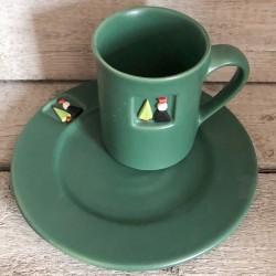 Tasse und Teller Rotkäppchen Set 2-teilig