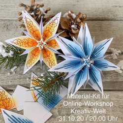 Materialkit für Online-Workshop Kreativ-Welt