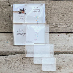 Acryl-Block für Clear Stamps im 3-er Pack