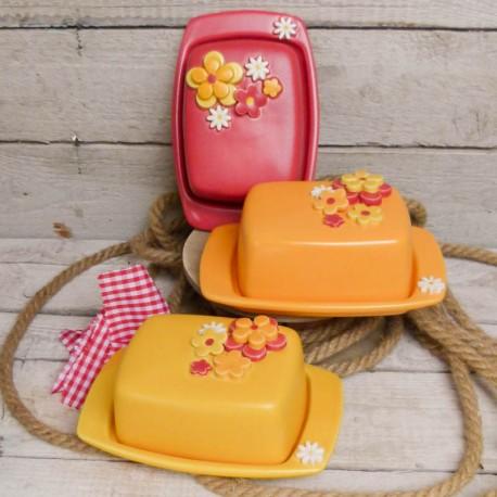 Kleine Butterdose Streublümchen