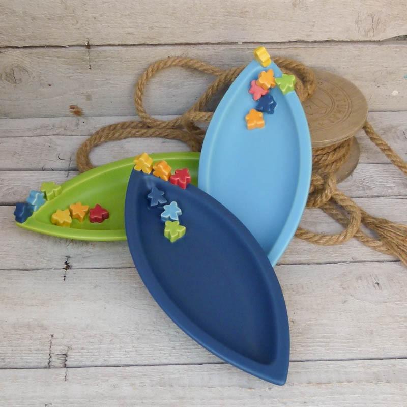 Regali per la casa vassoio forma barca con fiori - Regali per casa ...