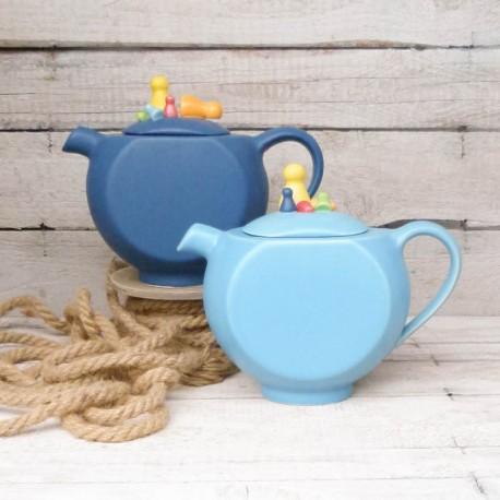 Teekanne Spielmännchen