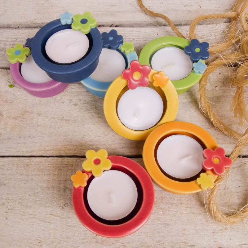 Regali per la casa porta tealight con decorazione - Idee utili per la casa ...
