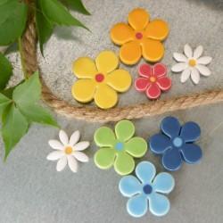 Blumenmagnete, einzeln