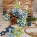 Regali di Natale. Stelle decorative da appendere - 8 pezzi