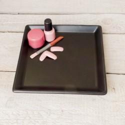"""Regali speciali. Vassoio quadrato decorazione """"Manicure"""""""