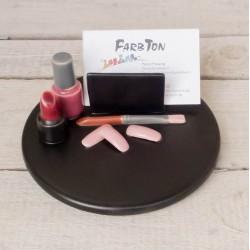 Visitenkartenhalter Kosmetik / Nageldesign