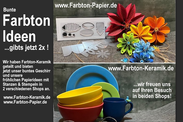 Farbton Papier